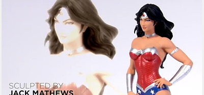 Wonder Woman DC Comics Cover Girls Statue (2015) DC Collectibles New