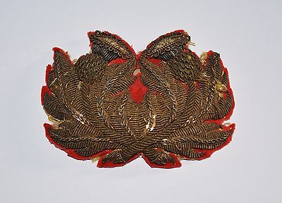 Victorian Officers Coatee Tunic Tail Ornament Scottish Regiment British Army
