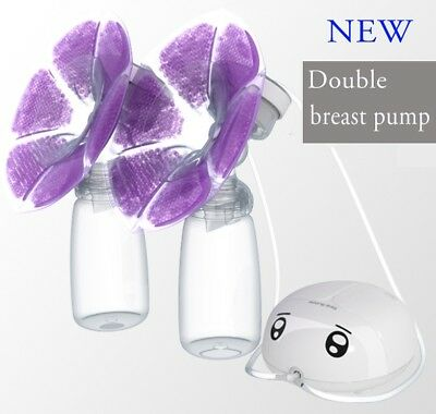 Real Bubee Automatic Baby Feeding Double Electric Breast Pump Milk USB PP