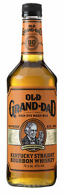31,41€/l Old Grand-Dad Kentucky Straight Bourbon Whiskey 40% Vol. 0,7 Liter