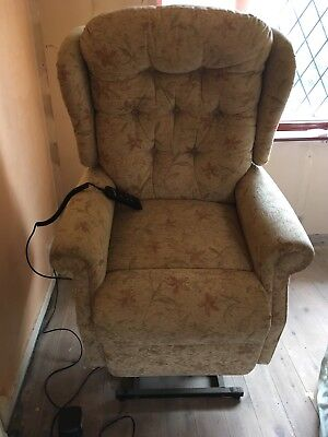 Mobility Electric Chair Armchair  Rise And Recline Chair Lift Up And Lays Out