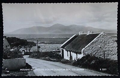 Old Real Photo Postcard - Dundrum Bay, Co Down, Northern Ireland - 1961