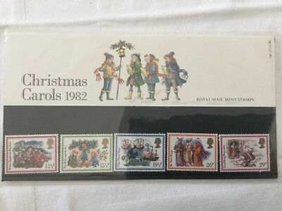 GB Presentation Pack of Mint Stamps Christmas 1982 Pack 140