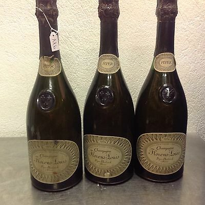 champagne Florens Louis piper heidsieck 1964 lot 3 bottles