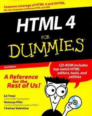 HTML 4 For Dummies