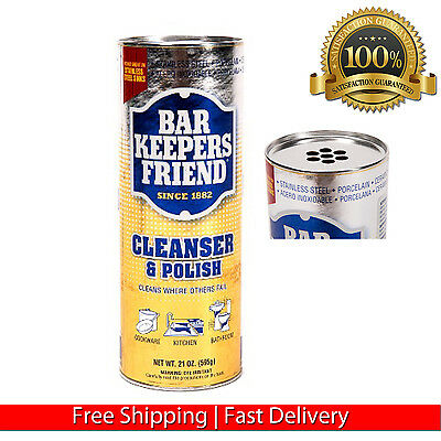 Bar Keepers Friend All Purpose Cleaner 21 Oz Multi Target Cleanser Mild Abrasive 3 52 Picclick