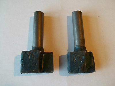 2x HSS router blank  1-3/4 and 2 inch industrial grade  3/4 shank  new