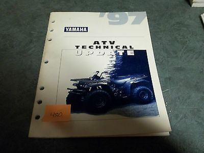 Yamaha dealer manual  technical orientation update atv 1997