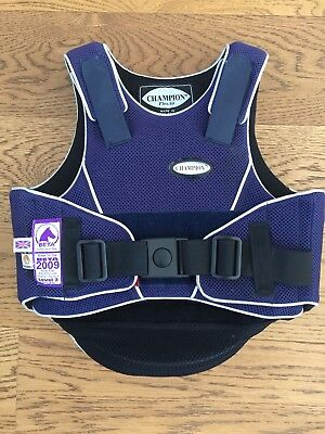 Childrens Horse Riding Body Protector Small
