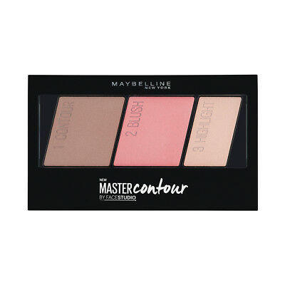 (6 Pack) MAYBELLINE Facestudio Master Contour Face Contouring Kit - Light to
