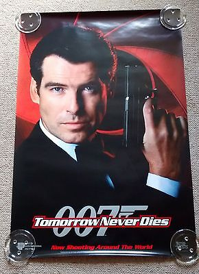 6 x Lot 90s Film One Sheets - James Bond, Jurrassic Park, Disaster Movies