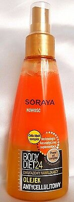 Soraya Body Diet24 Anti-cellulite Body Lotion In Oil Spray 2-phase  150ml