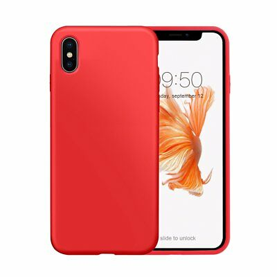 iPhone X Case, Mutural Liquid Silicone Gel Rubber, iPhone cover with attractive