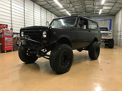 1978 International Harvester Scout  1978 International Scout II, 345 motor, Auto Trans, On board Air, 9k Winch,