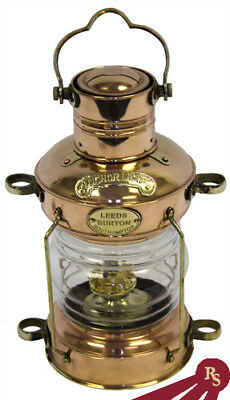 "14"" BRASS ENGLISH CARGO LANTERN - Display Ship Lamp"