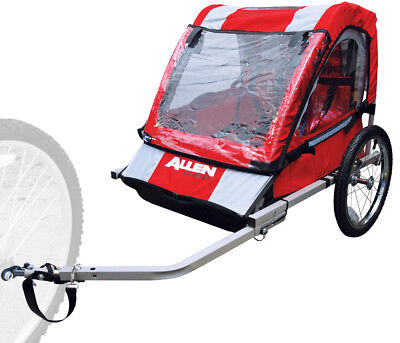 Allen AST2 2 Child Steel Trailer Mountain Bike
