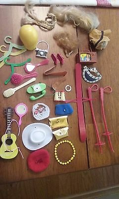 VTG Barbie accessories 1970's-80's