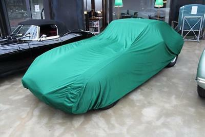 Movendi Car-Cover Satin Grün Vollgarage Ganzgarage für Jaguar E-Type Serie 3