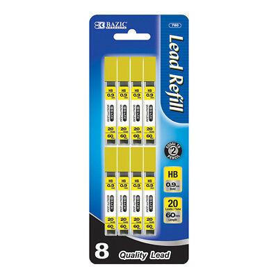 Refill Lead HB 0.9mm/60mm Mechanical Pencil Lead 160 leads per pack - US SHIP