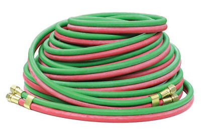 "25/' x 1//4/"" B/&B Fittings 7109NLF-300 Thermoid Grade T Twin Welding Hose"