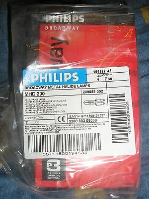 Lampe pour retroprojecteur Philips MHD200  Broadway metal Halide Lamp original
