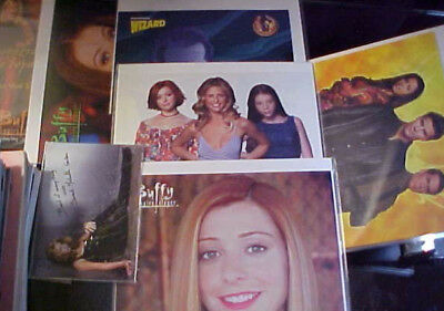 Buffy The Vampire Slayer Collectible Lot! Posters, Photos