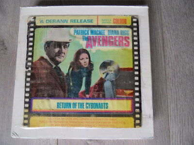 super 8 film The Avengers 2 x 600 reels Return of The Cybonauts