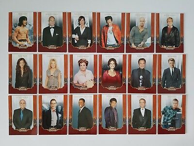 Americana 2009 Complete Base Card Set Of 100 Stars Of Entertainment Donruss