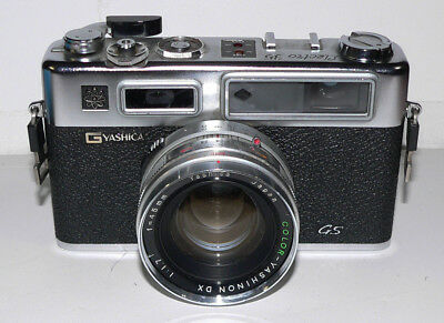Vintage Rangefinder camera Yashica Electro35 GS. Untested. ASIS