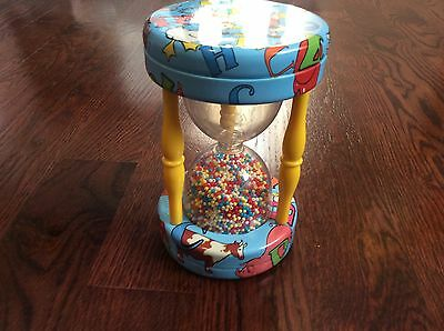 Schylling Tin Hour Glass Toy Vintage-Like
