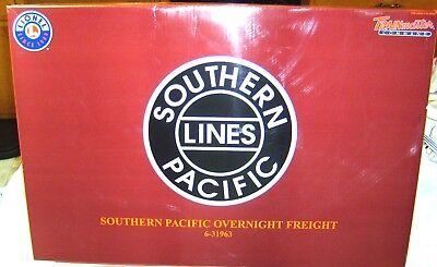 Lionel 6-31963  Southern Pacific Overnight Freight Set  W/ Sound