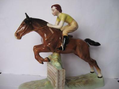 Beswick Horse - Girl On Jumping Horse No. 939