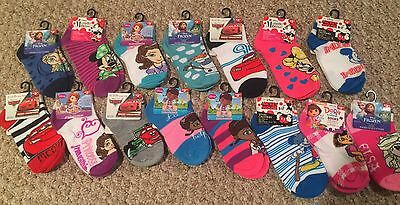 NWT Lot of 3 Disney Toddler Socks You Pick 3 Size 4-6, 6-8 Frozen Cars Doc Sofia