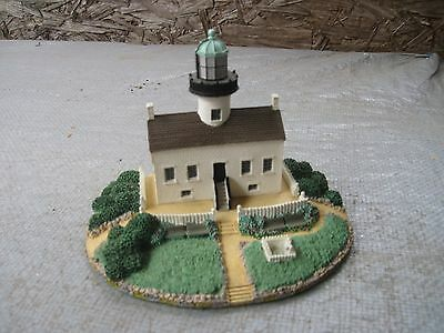 1992 Danbury Mint OLD POINT LOMA LIGHTHOUSE SanDiego, CA..Good Cond.