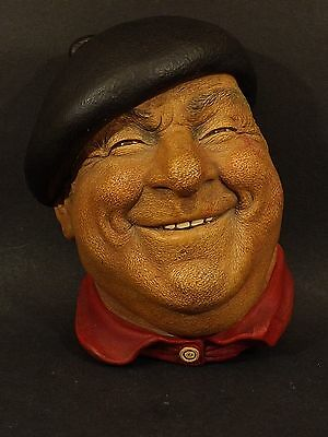 "Vintage ~ Bossons Chalkware ~ ""pierre""  ~ Wall Decoration ~ 1971"