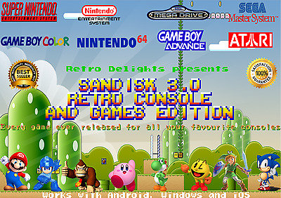 All Retro Consoles & Games On Usb [N64 - Snes - Nes - Megadrive -Atari - Gba]
