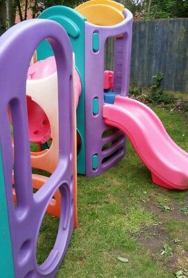 Little Tikes 8 in 1 CLIMBING FRAME Playground Playhouse 2 Slides Leicester