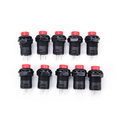 10pcs button switch DS-428 push button switch DS-228 Self-locking mounting holeT