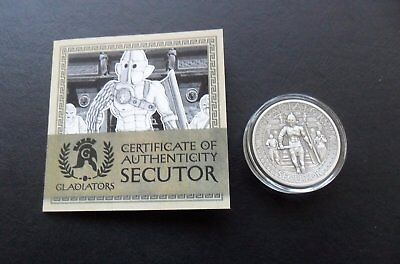 Gladiators 2017 5$ SECUTOR 2 oz silver