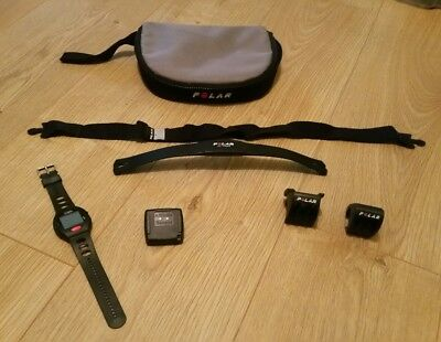 Polar Bike Set Heart Rate Sensor Monitor Altitude Watch