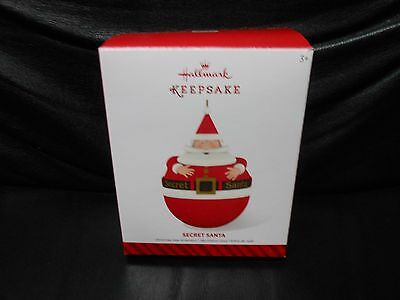 "Hallmark Keepsake ""Secret Santa"" 2014 Ornament NEW"