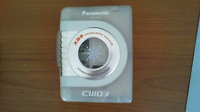 Panasonic RQ-CW03 Personal Cassette Tape Player Clear Good Working Condition XBS