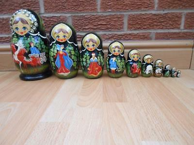 Russian Dolls - Hand Painted from Cepzueb Nocag