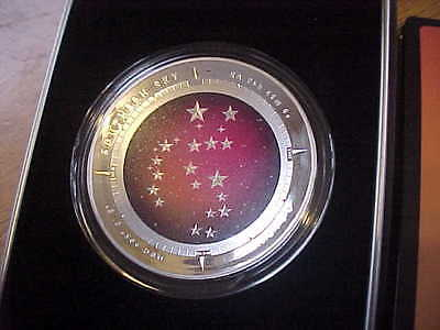 2014 Silver Proof Color Domed Coin of Orion-1 oz.Silver-Royal Australian Mint