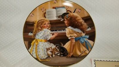 """1983 Reco Days Gone By Collection """"Afternoon Recital"""" by Sandra Kuck #2277DG"""