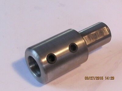 SHAFT   COUPLING  Step-Down 19 MM X  16 MM  Steel     Metric   1 Pc