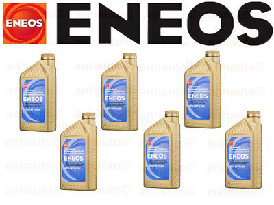 Set of 6 ENEOS CVT Transmission Fluid NS-3 for Nissian Infiniti + Subaru CVTF-II
