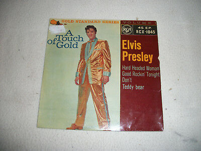 Vintage 45 EP Elvis Presley = A Touch of Gold - RCX-1045