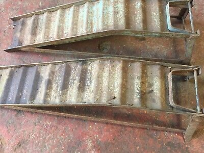 Heavy Duty Car Ramps Pair Used
