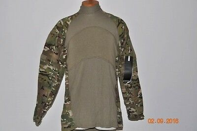 Massif Us Military Issue Combat Shirt Multi-Cam Size- Large Regular New W/tags